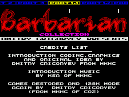 BARBARIAN COLLECTIONS