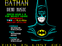 BATMAN MUSIC DEMO (THD3)