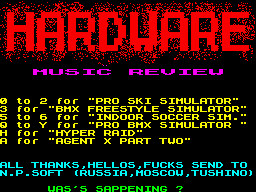 Hardware Music Review
