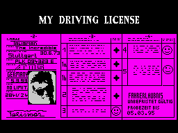 My Driving License